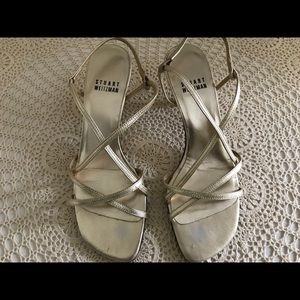 Stuart Weitzman kitten heels shoes